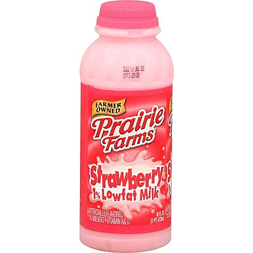 Prairie Farms Milk Lowfat 1 Milkfat Strawberry Chocolate Flavored Greenleaf Market
