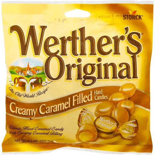 Werther's Original Hard Candies Creamy Caramel Filled