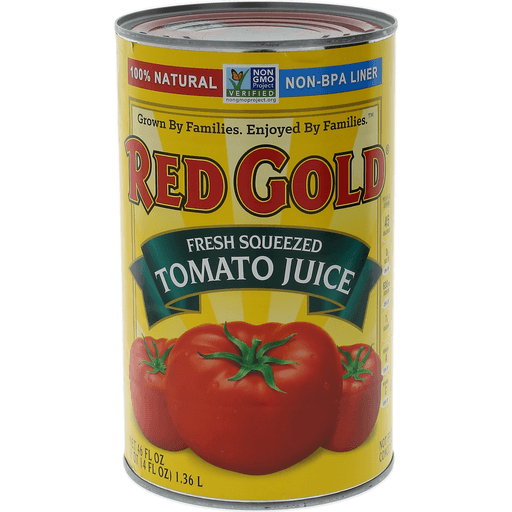 Red Gold Juice, Fresh Squeezed Tomato