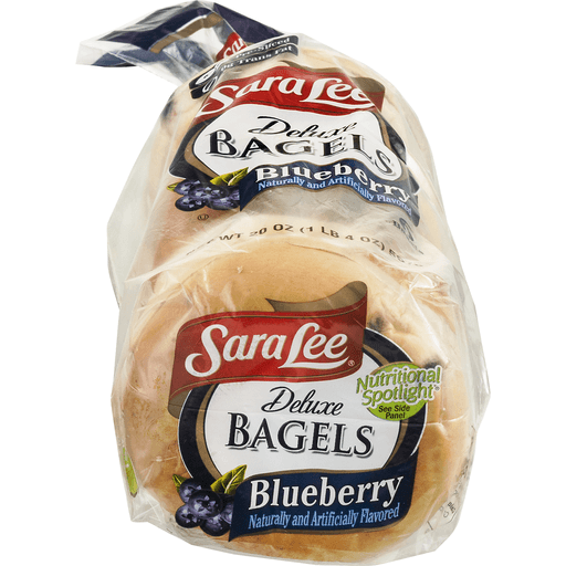 Sara Lee Deluxe Bagels, Blueberry