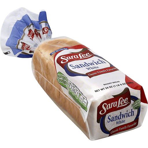 Sara Lee Bread, Sandwich White | White