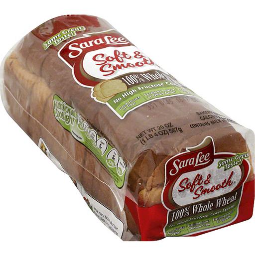 Sara Lee Soft & Smooth Bread, 100