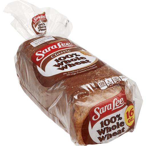 Sara Lee Bread, Classic 100% Whole Wheat