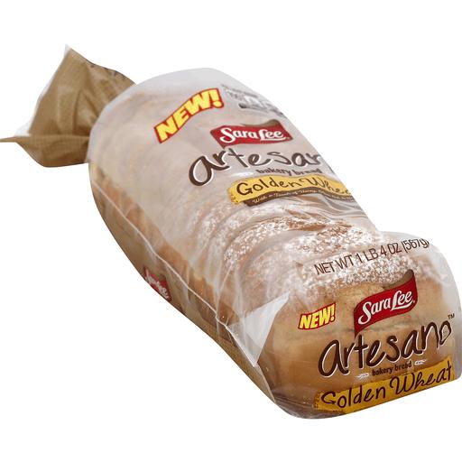 Sara Lee Artesano Bread Golden Wheat