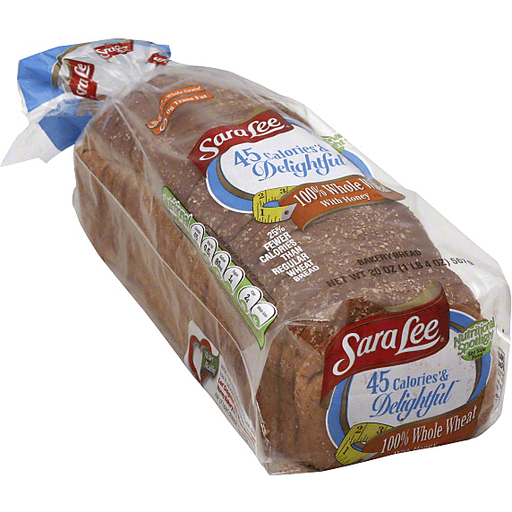 Sara Lee Bread, 100% Whole Wheat, with