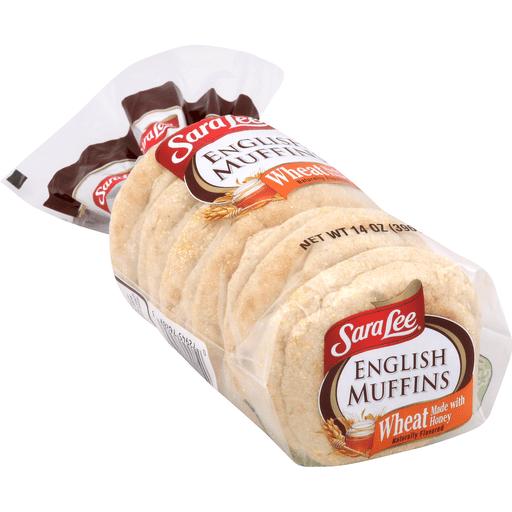 Sara Lee English Muffins, Wheat