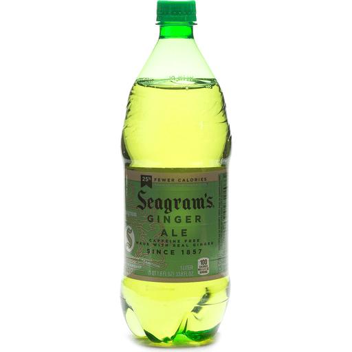 Seagram's® Ginger Ale 1L Bottle