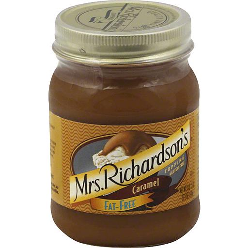 Mrs Richardsons Topping, Fat-Free, Caramel
