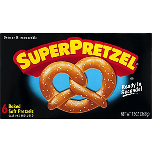 SuperPretzel Soft Pretzels, Original