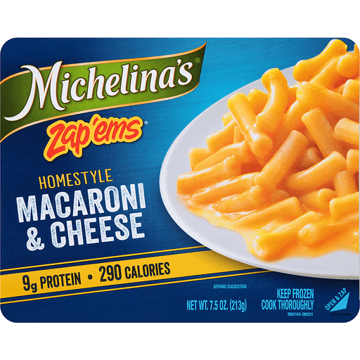 Michelina's® Zap'Ems® Homestyle Macaroni & Cheese 7.5 oz. Tray