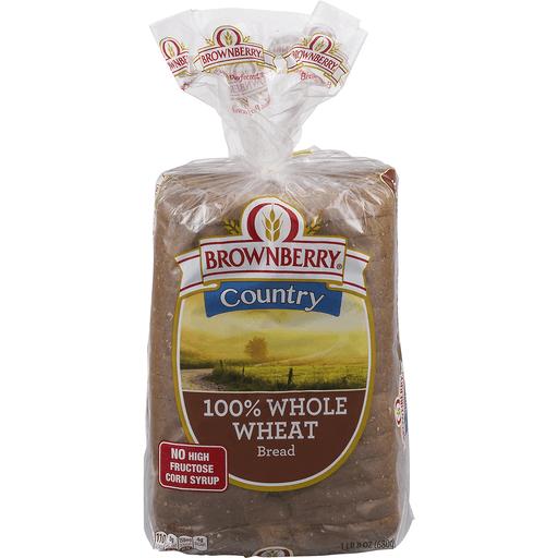 100 Percent Whole Wheat Bread 24 Oz