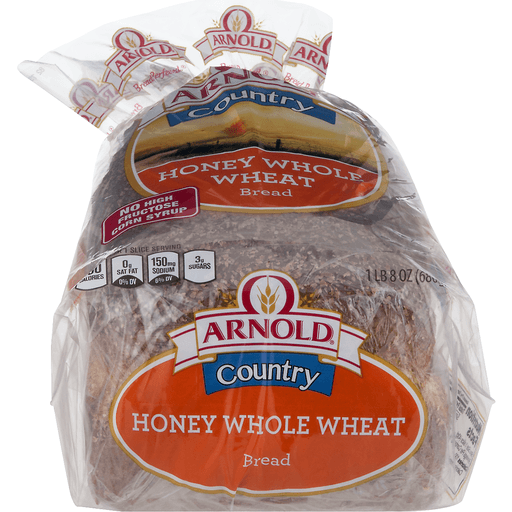 Arnold Country Bread, Honey Whole Wheat