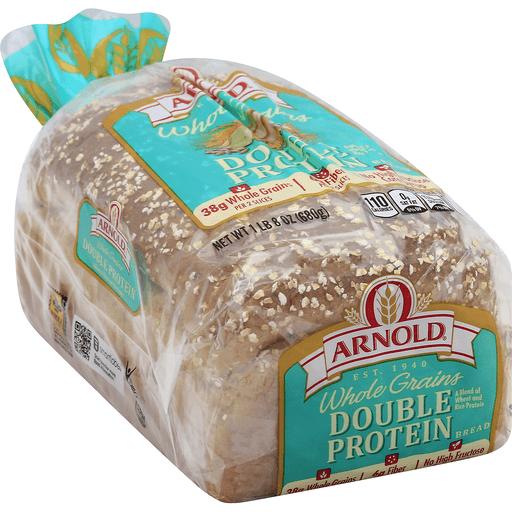 Whole Grains Double Protein Bread 24 Oz