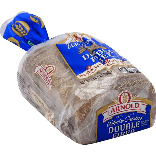 Arnold Bread, Double Fiber, Whole