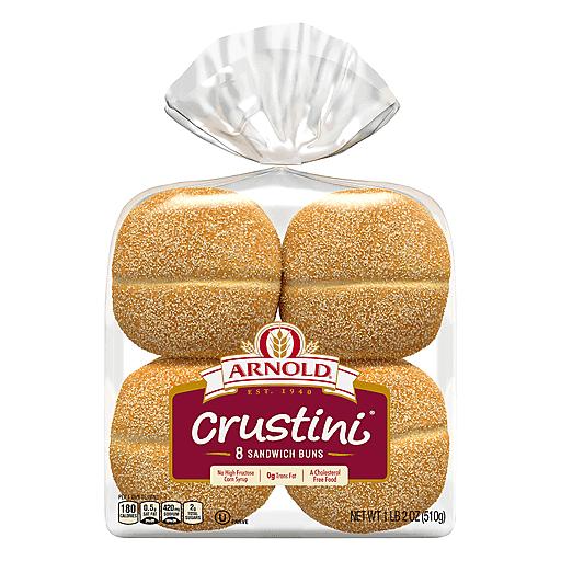 Oroweat Crustini Rolls - 8 Ct