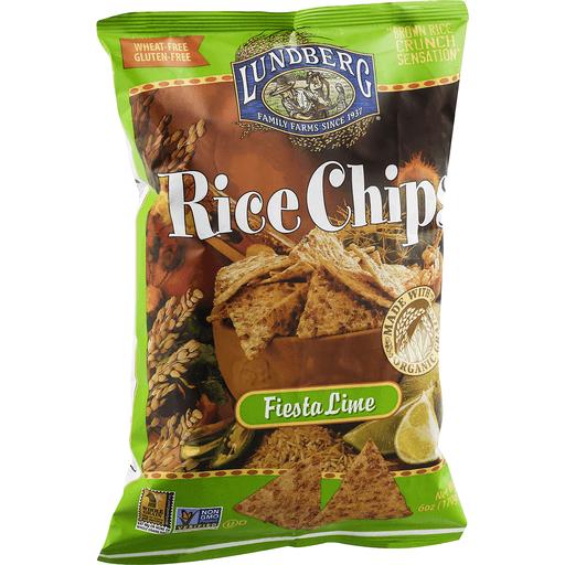 Lundberg Rice Chips, Fiesta Lime