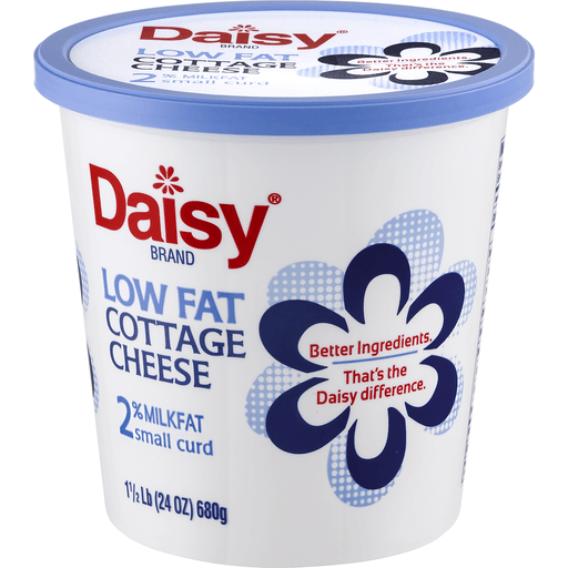 00073420524203 daisy cottage cheese small curd 2 milkfat low rh festfoods com Daisy Cottage Cheese Protein Low Salt Cottage Cheese Brands