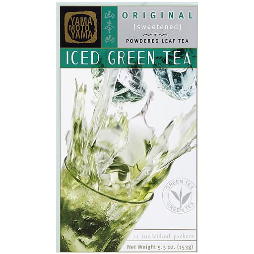 Yamamotoyama Iced Green Tea - Light Sweet 12 Pc