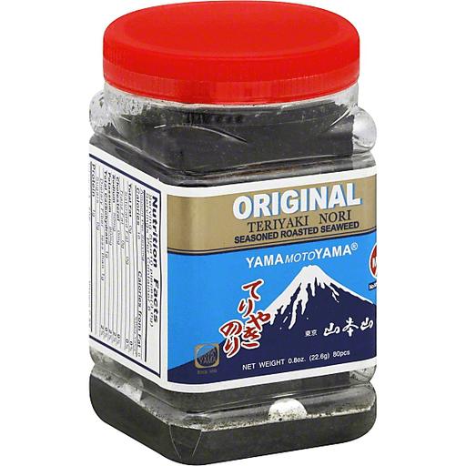 Yamamotoyama Seaweed-Teriyaki Nori Jar