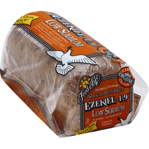 Food For Life Ezekiel 4 9 Bread Sprouted Grain Low Sodium Specialty Bread Toast Leyo S Supermarket
