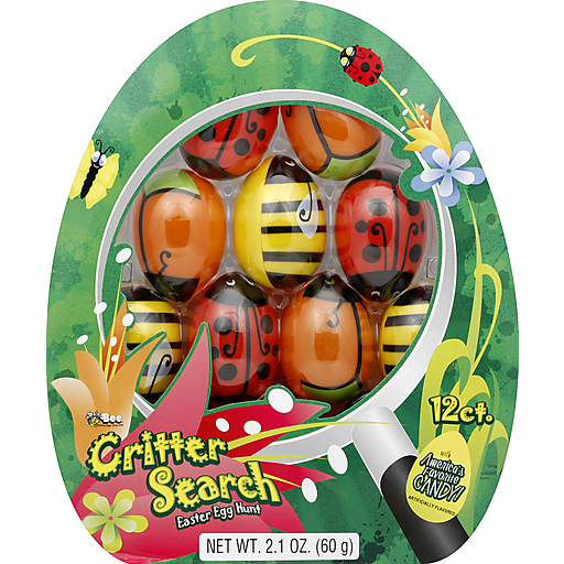 Bee Internatnl Critter Search Eggs