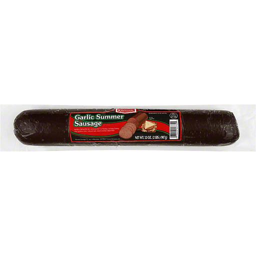 Klements Summer Sausage, Garlic