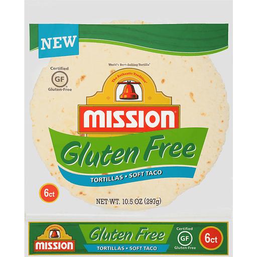 Mission Gluten Free Tortillas, Soft Taco