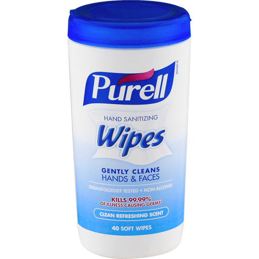 Purell Wipes, Hand Sanitizing, Clean Refreshing Scent