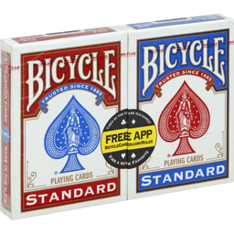 Bicycle Playing Cards Standard Face Standard Size | Global