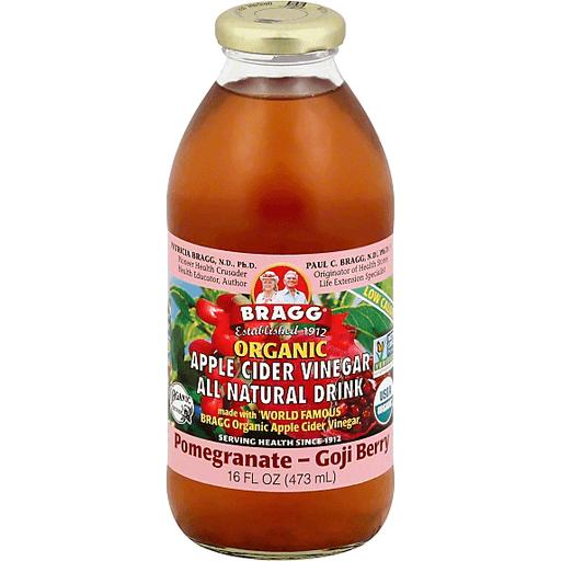 Bragg Organic Apple Cider Vinegar Pomegranate And Goji Berry