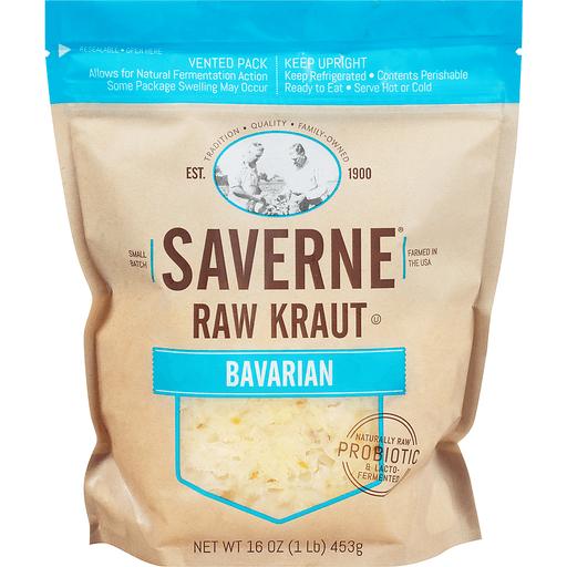 Saverne® Raw Bavarian Kraut 16 oz. Pouch