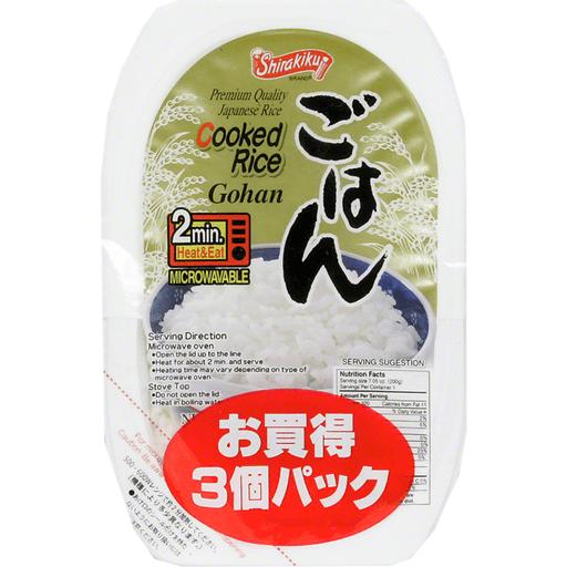Shirakiku Cooked Rice Gohan