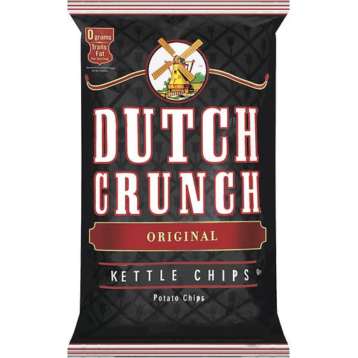 Dutch Crunch® Original Kettle Potato Chips 9 oz. Bag