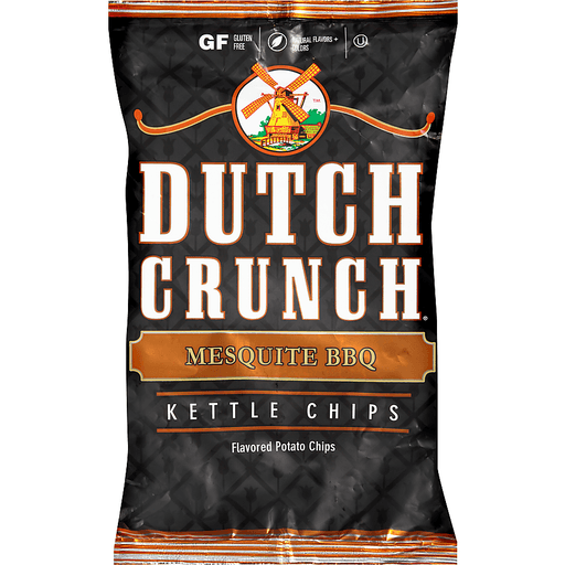 Dutch Crunch® Mesquite BBQ Kettle Potato Chips 9 oz. Bag