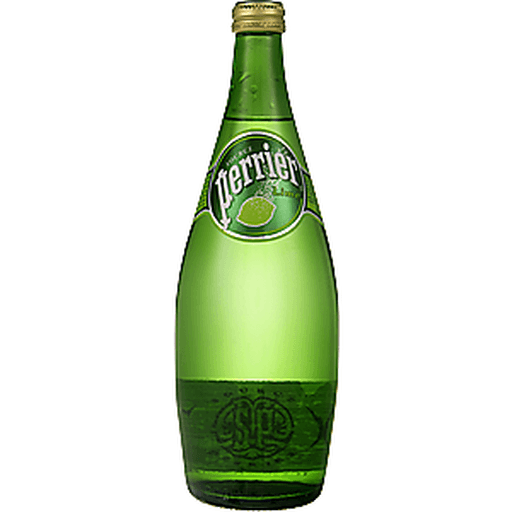 Perrier Water, Sparkling Natural Mineral, Lime