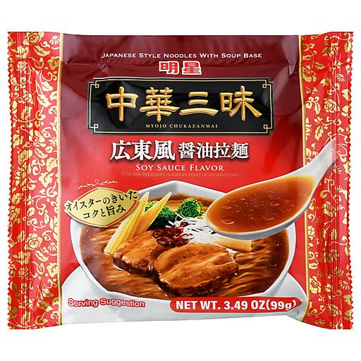 Myojo Chukazanmai Canton Soy Sauce Flavor