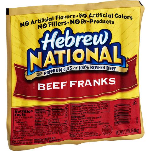 Hebrew National Beef Franks