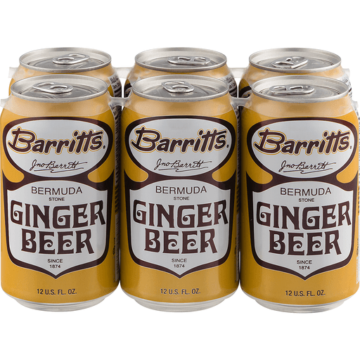 Barritts Bermuda Stone Ginger Beer - 6 PK
