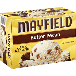 Mayfield Ice Cream Classic Butter Pecan