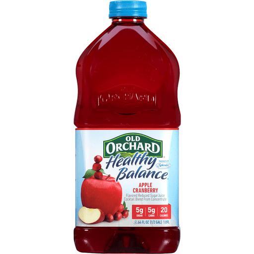 Old Orchard® Healthy Balance® Apple Cranberry Juice Cocktail 64 fl. oz. Bottle