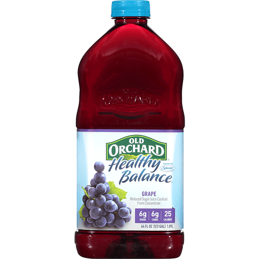 Old Orchard Healthy Balance Juice Cocktail, Grape