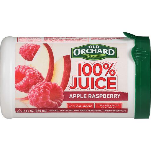 Old Orchard 100% Juice, Apple Raspberry