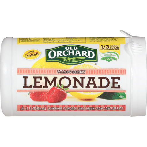 Old Orchard Lemonade, Strawberry