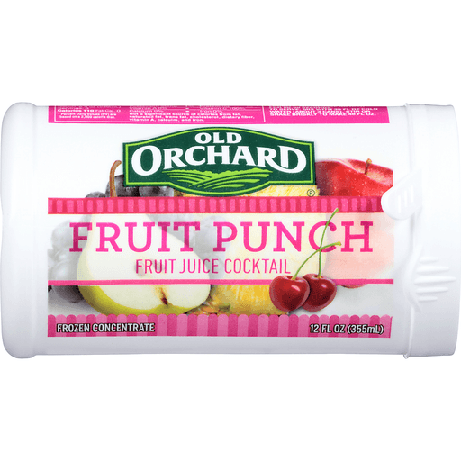 Old Orchard Fruit Juice Cocktail, Fruit Punch