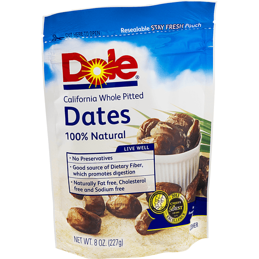 Dole Dates, Pitted