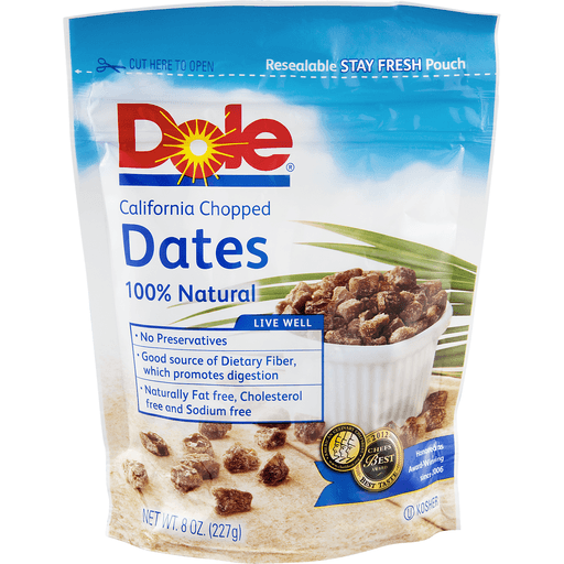 Dole Dates, Chopped