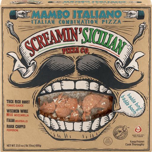 Screamin Sicilian Pizza, Mambo Italiano