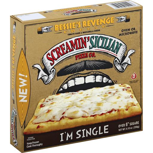 Screamin' Sicilian™ Pizza Co. Single Serve Bessie's Revenge Cheese Pizza 9.10 oz. Box
