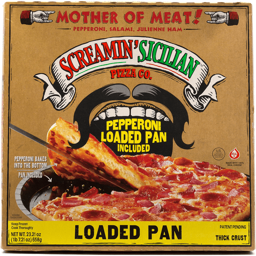 Screamin Loaded Pans Mthr Of Meat