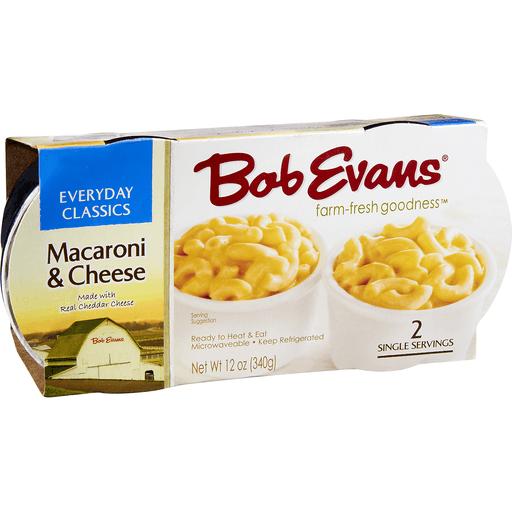 Bob Evans Tasteful Sides Macaroni & Cheese, Singles